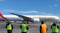 IN PICS: Emirates ground crews wave goodbye to final flights