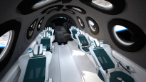 SNEAK PEAK: Virgin Galactic unveils SpaceshipTwo cabin interior