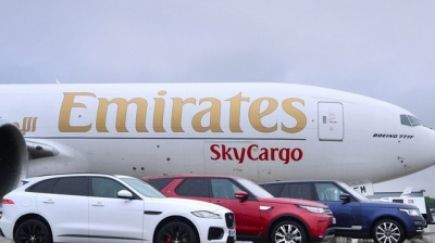Emirates SkyCargo flies Jaguars to Chicago