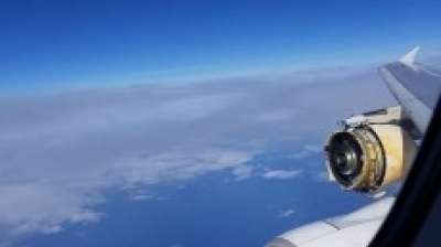 Panic as engine falls off Air France A380 over Atlantic
