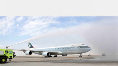 Cathay Pacific starts freight operations at DWC's Al Maktoum International