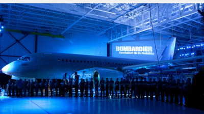 First test flight of Bombardier CSeries successful