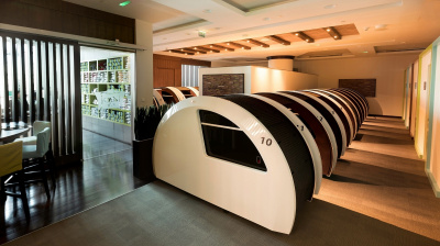 Dubai airport offers 'sleep pods' to travellers