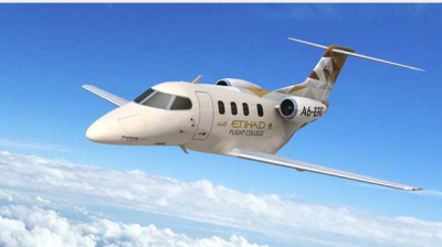 Etihad Flight College takes delivery of Embraer Phenom 100e