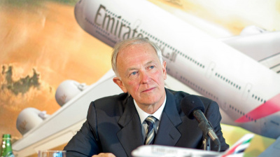 Aircraft fuel 'hugely overpriced', says Emirates airline's Tim Clark