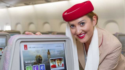 PHOTOS: Emirates' new in-flight entertainment system