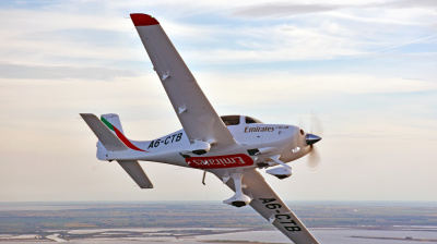 Emirates Flight Training Academy receives delivery of first training aircraft