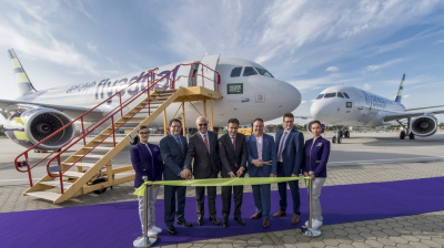 Flyadeal receives first A320 from DAE, set to begin operations next month