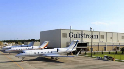 Gulfstream opens new paint shop