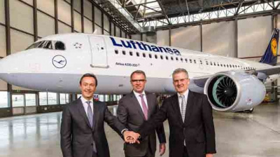 First A320neo delivery made to Lufthansa