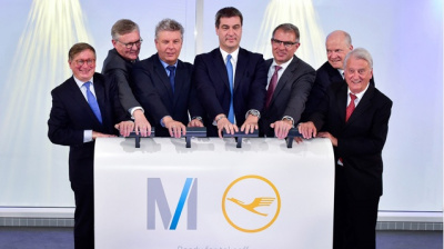 Munich opens new satellite terminal