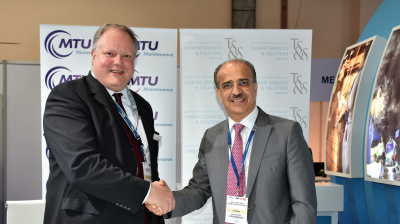 TS&S signs long term contract with MTU Maintenance at MRO Middle East