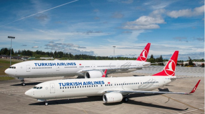 Turkish Airlines selects Panasonic for inflight entertainment and connectivity on-board 167 narrow-body aircraft