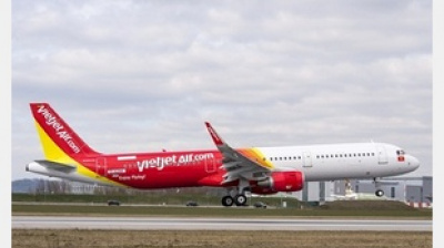 Vietjet places $3.6 bn order with Airbus for 30 A321 aircraft