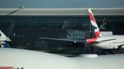 British Airways infographic details how many items are brought onboard a 747 aircraft