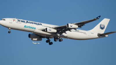 Aseman Airlines plane crashes in Iran