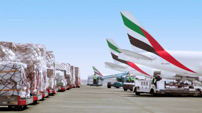 Emirates SkyCargo transports cars for Gumball 3000 rally
