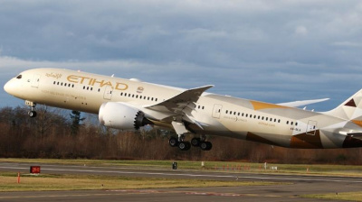 Abu Dhabi's Etihad Airways boosts capacity on Chinese, Korean routes