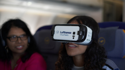 Lufthansa unveils new in-flight VR prototype on Dubai-bound flight