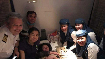 Miracle on Saudi Arabia-Philippines flight as baby delivered on board