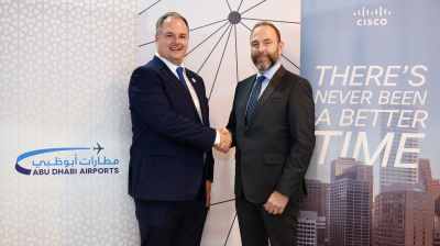 Cisco and Abu Dhabi Airports move towards digialisation
