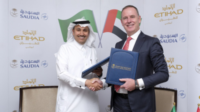 Etihad and Saudia sign codeshare partnership