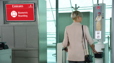 Emirates set to launch integrated 'biometric path'