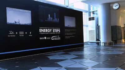 How passenger footsteps are helping to power Abu Dhabi Int'l