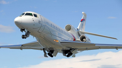 Dassault puts Falcon 8X front and centre at MEBAA 2018