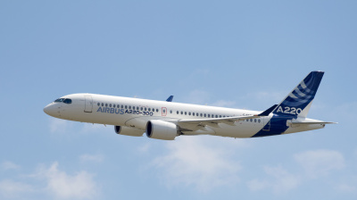 US 'Moxy' airline inks order with Airbus for 60 A220-300s