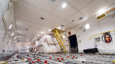 Sharp drop in air freight demand in the Middle East