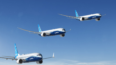 Boeing achieves milestone with new airplane delivery record