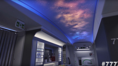 Boeing Corporation unveils concept video of 777X aircraft cabin