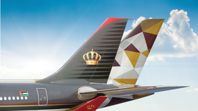 Etihad Airways and Royal Jordanian ink codeshare partnership