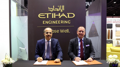 SATAIR and Etihad Airways Engineering sign MoU