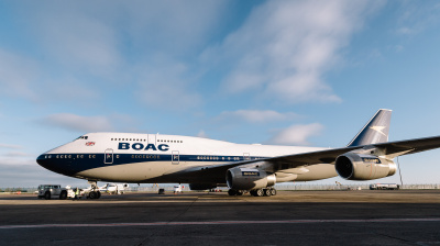 British Airways showcases Boeing 747 with throwback BOAC livery