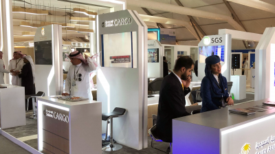 Saudia Cargo highlights service portfolio at Saudi International Airshow