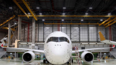 Etihad Airways Engineering expands capabilities to Airbus A350s
