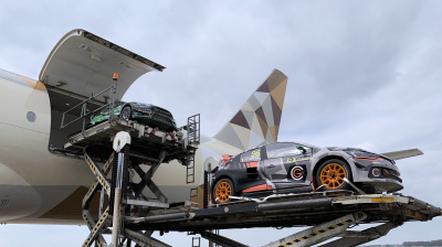 Etihad Cargo delivers WRX cars to Abu Dhabi