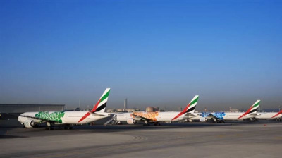 Emirates completes liveries on Dubai Expo 2020 mini-fleet