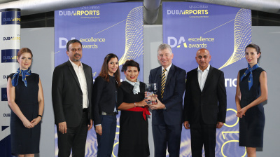 Air France KLM recognised for sustainability efforts at Dubai Airports Excellence Awards