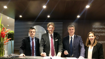 Jet Aviation signs regional FBO service agreement with Wijet