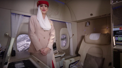 Video: Emirates Flight Attendant Zoey gives a tour of the B777 new First Class Suites
