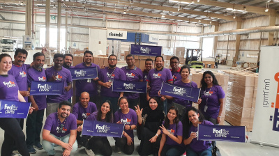FedEx Express give back to the community this Ramadan