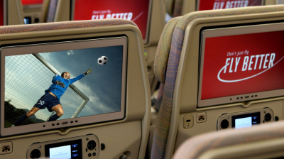 Emirates to live stream championship football on select flights