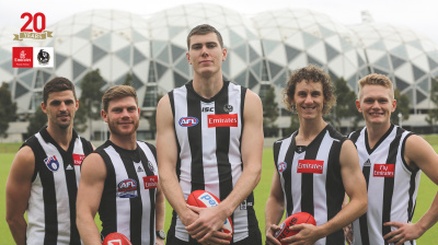 Emirates renews its partnership with Collingwood Football Club
