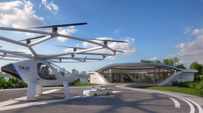 Volocopter plans first aerial taxi port in Singapore