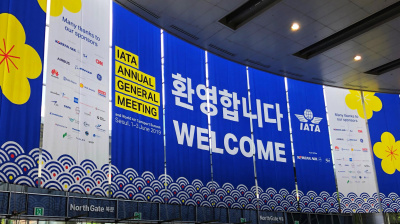 IATA's 75th Annual General Meeting is underway