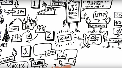 Video: IATA releases artsy vid exploring the value of slot mobility