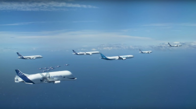 Video: Airbus releases teaser for recent anniversary formation flight